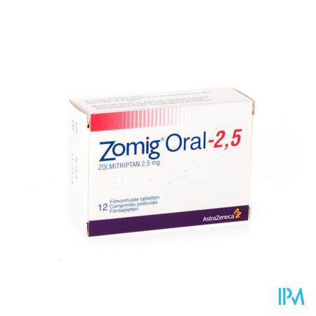 Zomig Oral Tabl 12 X 2,5mg