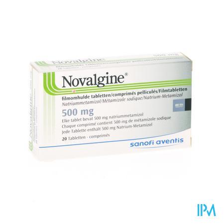 Novalgine Comp. Oblong 20 X 500mg