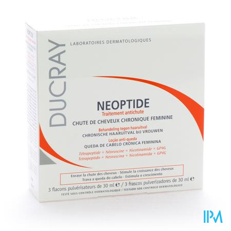 Ducray Neoptide Antichute Lotion 3x30 ml