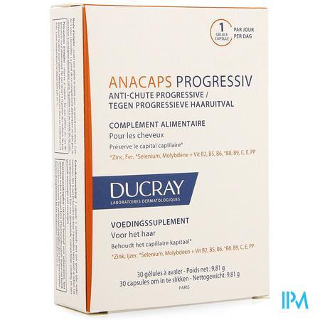 Ducray Anacaps Progressiv A/chute Caps 30