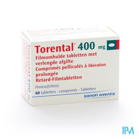 Torental Drag. 60 X 400mg