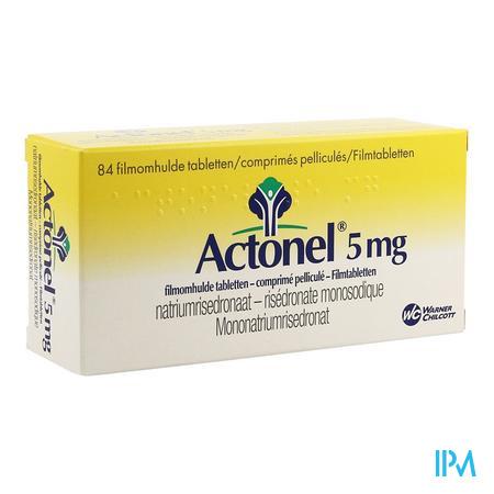 Actonel Tabl 84 X 5mg