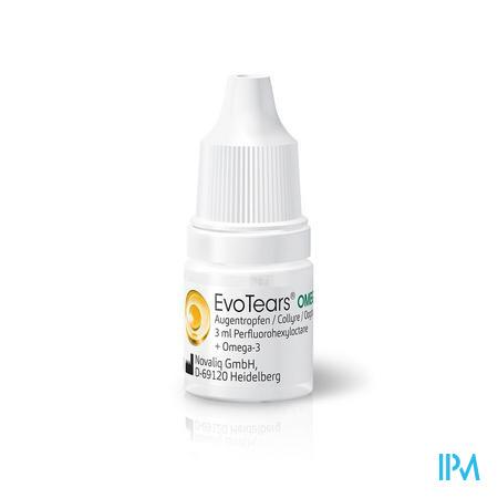 Evotears Omega 3 ml  -  Ursapharm