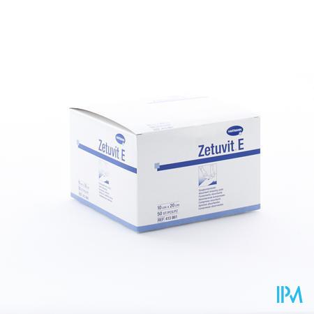 Zetuvit 10cm x 20cm Non Stérile 50 pièces