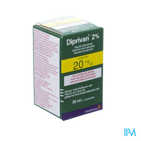 Diprivan 2% Vial 50ml 20mg/ml