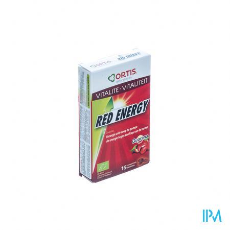 Ortis Red Energy Bio 15 tabletten