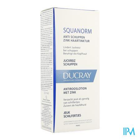 Afbeelding * Ducray Squanorm Anti-Rooslotion met Zink Flacon 200 ml.