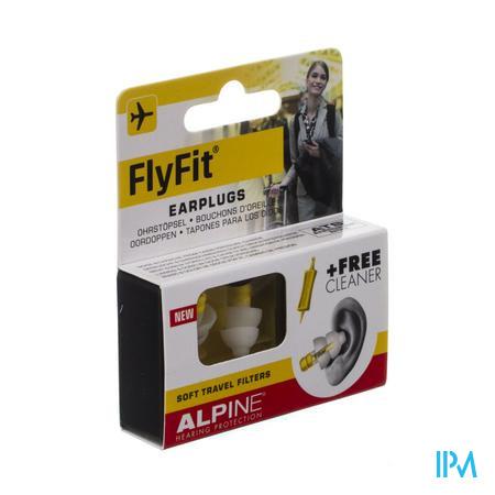 Afbeelding Alpine FlyFit Oordoppen met Zachte Reisfilters 1 Paar .