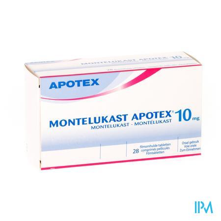 Montelukast Apotex 10mg Filmom Comp 28 X 10mg