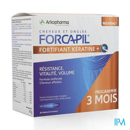 Forcapil Keratine+ Lot Caps 180