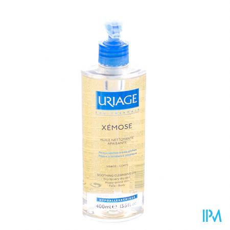 Afbeelding Uriage Xémose Kalmerende Reinigingsolie voor Douche en Bad voor Zeer Droge Huid met Neiging tot Atopie 400 ml.