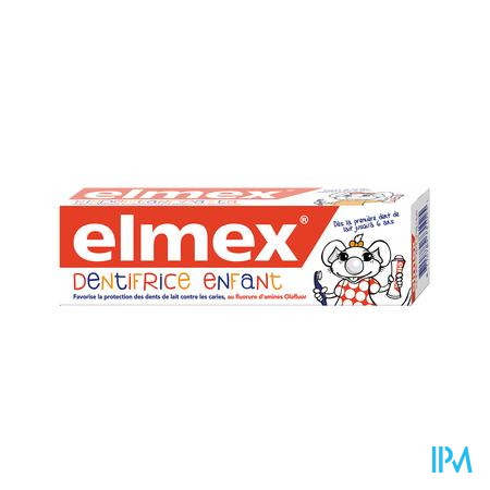 Elmex Dentifrice Enfant 0-5 Ans 50 ml