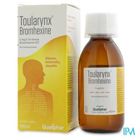 Toularynx Bromhexine 180 ml siroop