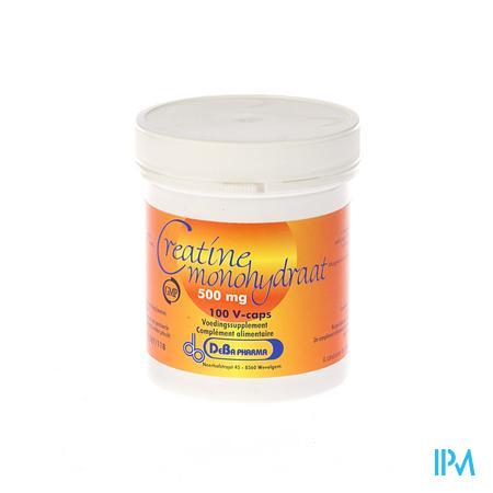 Creatine Monohydrate Capsule 100x500 mg Deba