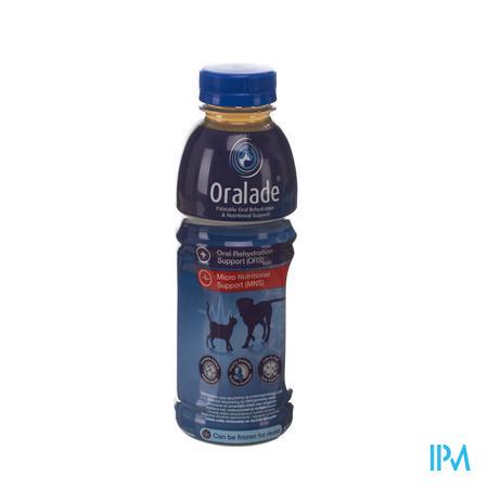 Oralade Sol rehydratie vloeistof Hond-Kat  500 ml