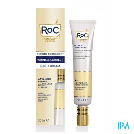 Roc Retinol Correx. Wrinkle Night Cream Fl 30ml