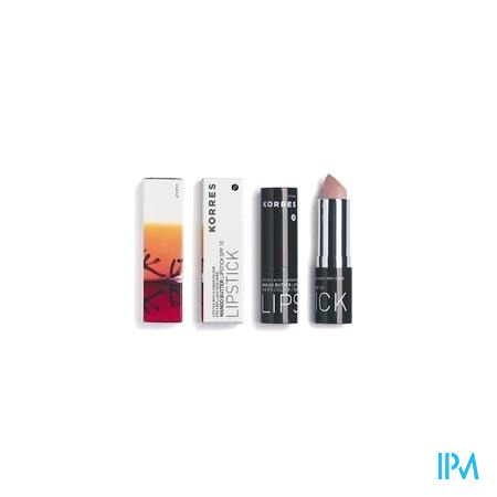 Afbeelding Korres Mango Butter Lipstick met SPF 10 n°12 Frost Pink 3,5g.