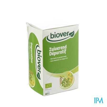 Biover Biokruideninfusie Zuiverend 20 zakjes
