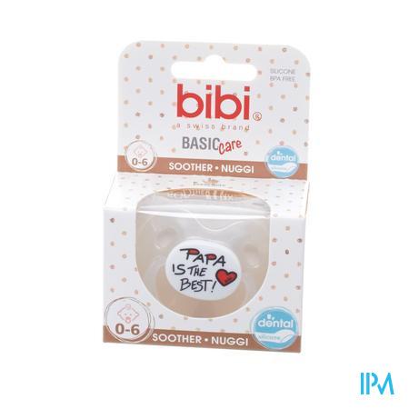 Bibi Fopspeen Basic Care Mama Papa I Love  0-6M