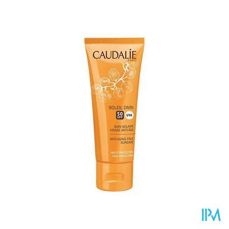 Caudalie Soleil Divin Gelaatsverzorging Anti-Age SPF50 40 ml