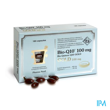 Bio-q10 100mg Gold Caps 180