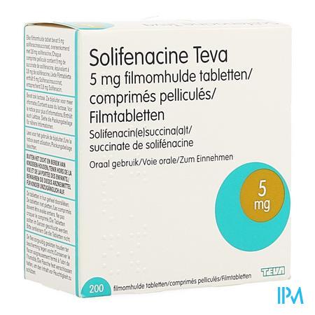 Solifenacine Teva Filmomh Tabl 2 X 100 X 5mg