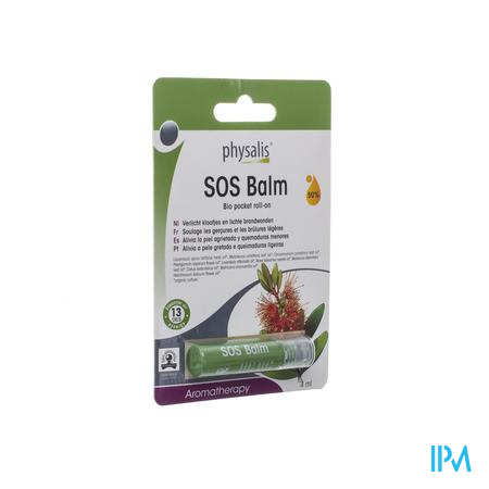 Physalis Roll-on Sos Balm Bio 4ml
