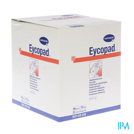 Eycopad Hartm Kp Ster 56x70mm 25 4155408