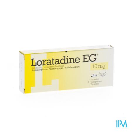 Loratadine EG 10mg 7 tabletten