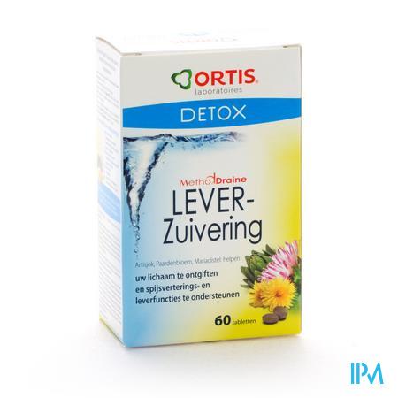 Ortis Methoddraine Zuiverend Lever Comp 4x15