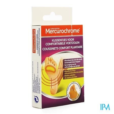 Mercurochrome Kussentjes Comfortabele Voetzolen