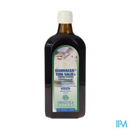 Echinacea Thym/Sauge Sirop aux Herbes 500 ml
