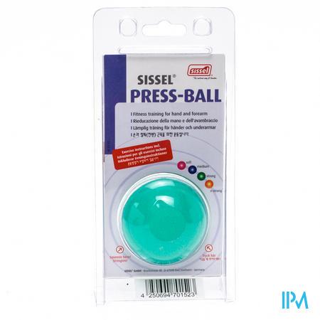 Sissel Press Ball Strong Groen