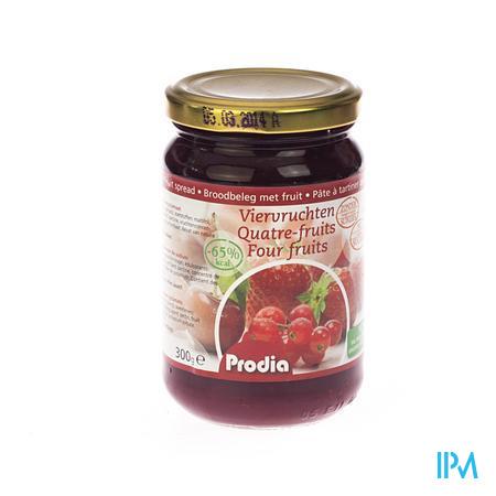 Prodia Broodbeleg 4 Vruchten + Maltitol 300 g