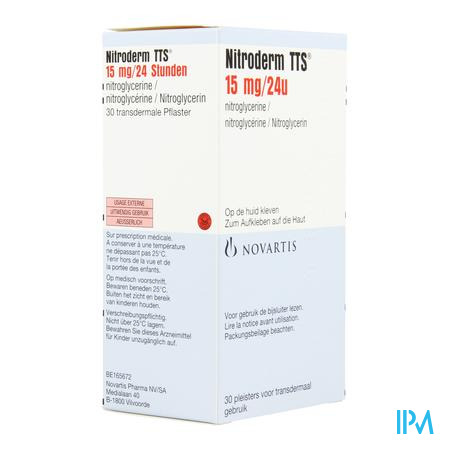 Nitroderm Tts 15 Systems 30
