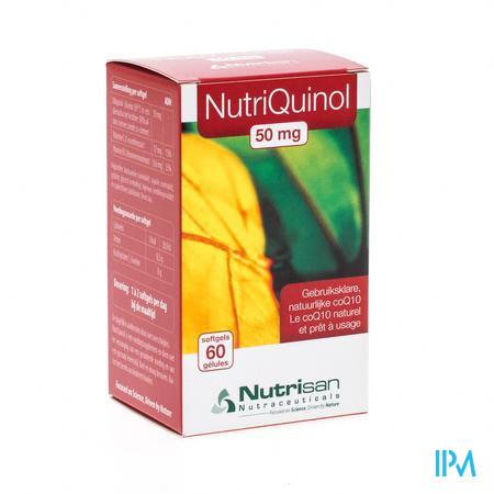 Nutrisan Nutriquinol 50 mg NF 60 capsules