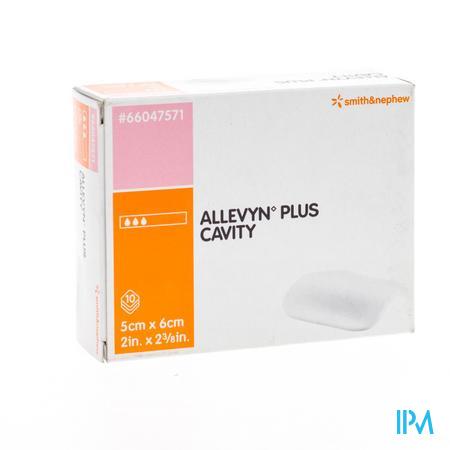 Allevyn Plus Cavity Hydrocel. 5X 6Cm 66047571 10 stuks