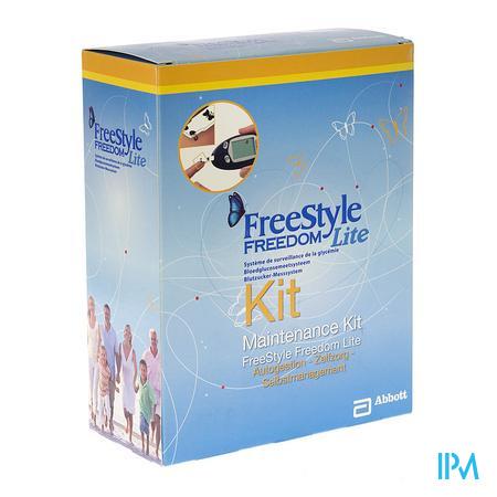 Abbott Maintenance Kit Freestyle Lit. Educ. Zelfzorg 1 stuk