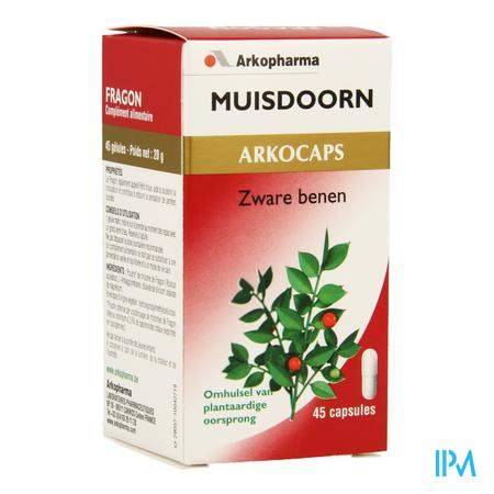 ArkoCapsule Muisdoorn Plantaardig 45