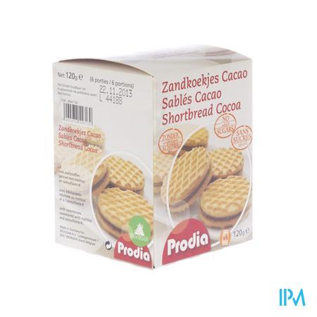 Prodia Sables Fourres Chocolat 120 g