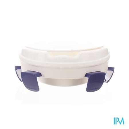Homecare Toiletverhoger 11cm +deksel+fix. V1214722