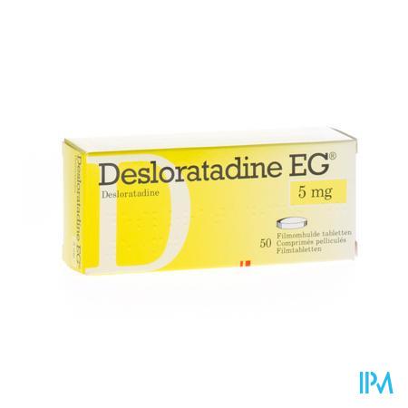 Desloratadine Eg 5mg Filmomh Tabl 50 X 5mg
