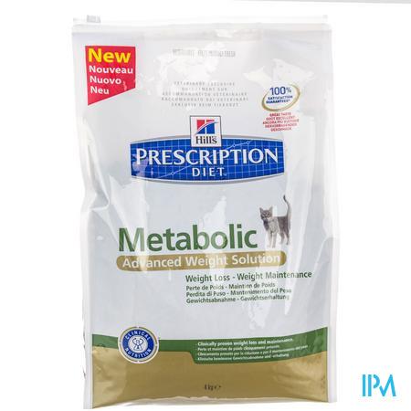 Hill's Prescription Diet Metabolic Feline 4 kg