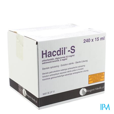 Hacdil-s 240x15 ml Unit Dose