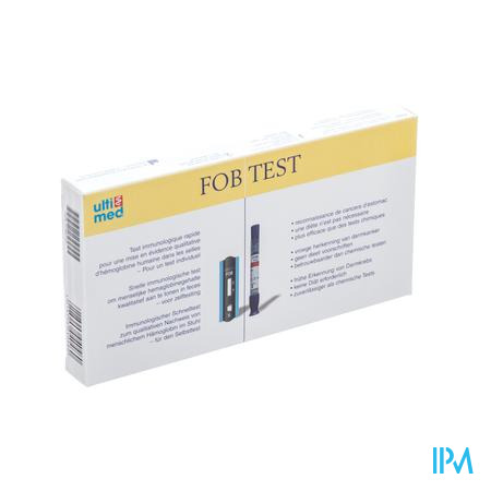 Fob Test Bloed In Stoelgang 1 stuk
