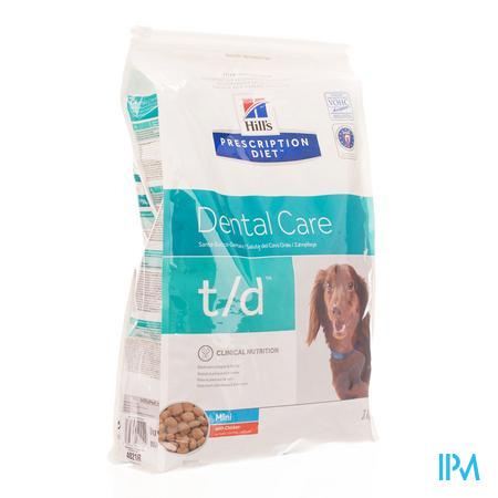 Hills Prescrip.diet Canine Td Mini 3kg 4021m