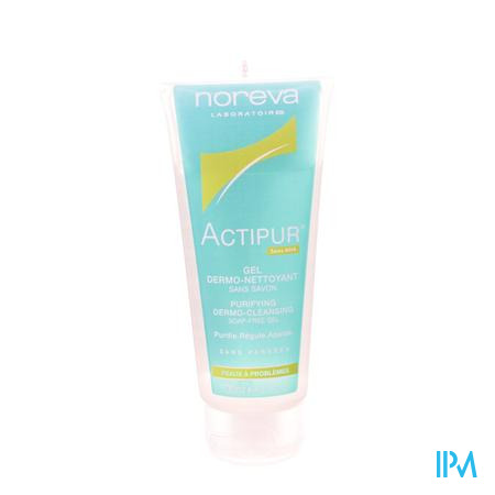 Actipur Gel Dermo-reinigend Z/zeep Tube 100ml