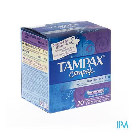 Tampax Compak Lites 20 stuks