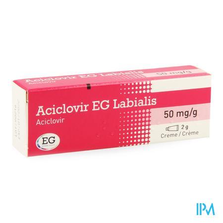 Aciclovir EG Labialis Creme 2gr  -  EG