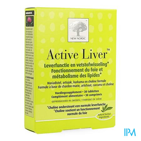 New Nordic Active Liver Tabletten 30